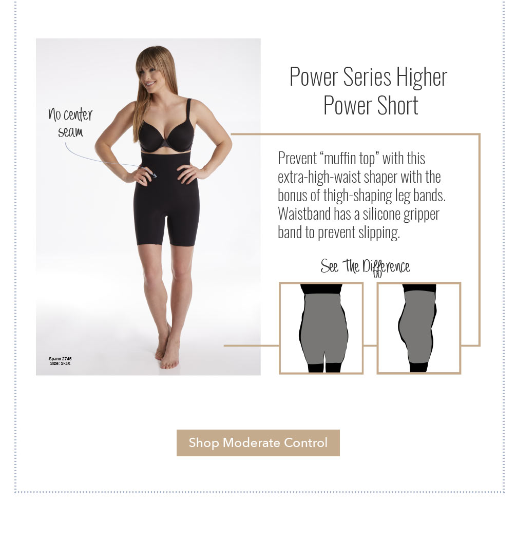 SPANX Power Series Higher Power Short 2745