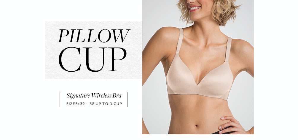 SPANX Pillow Cup Signature Wireless Bra SF0715