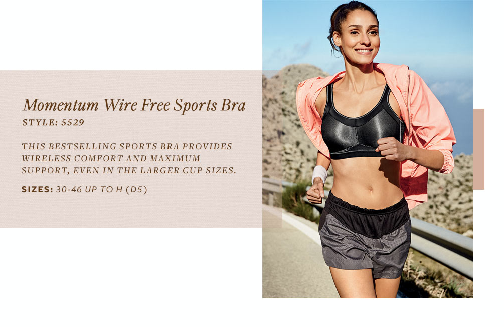 Anita Active Momentum Wire Free Sports Bra 5529